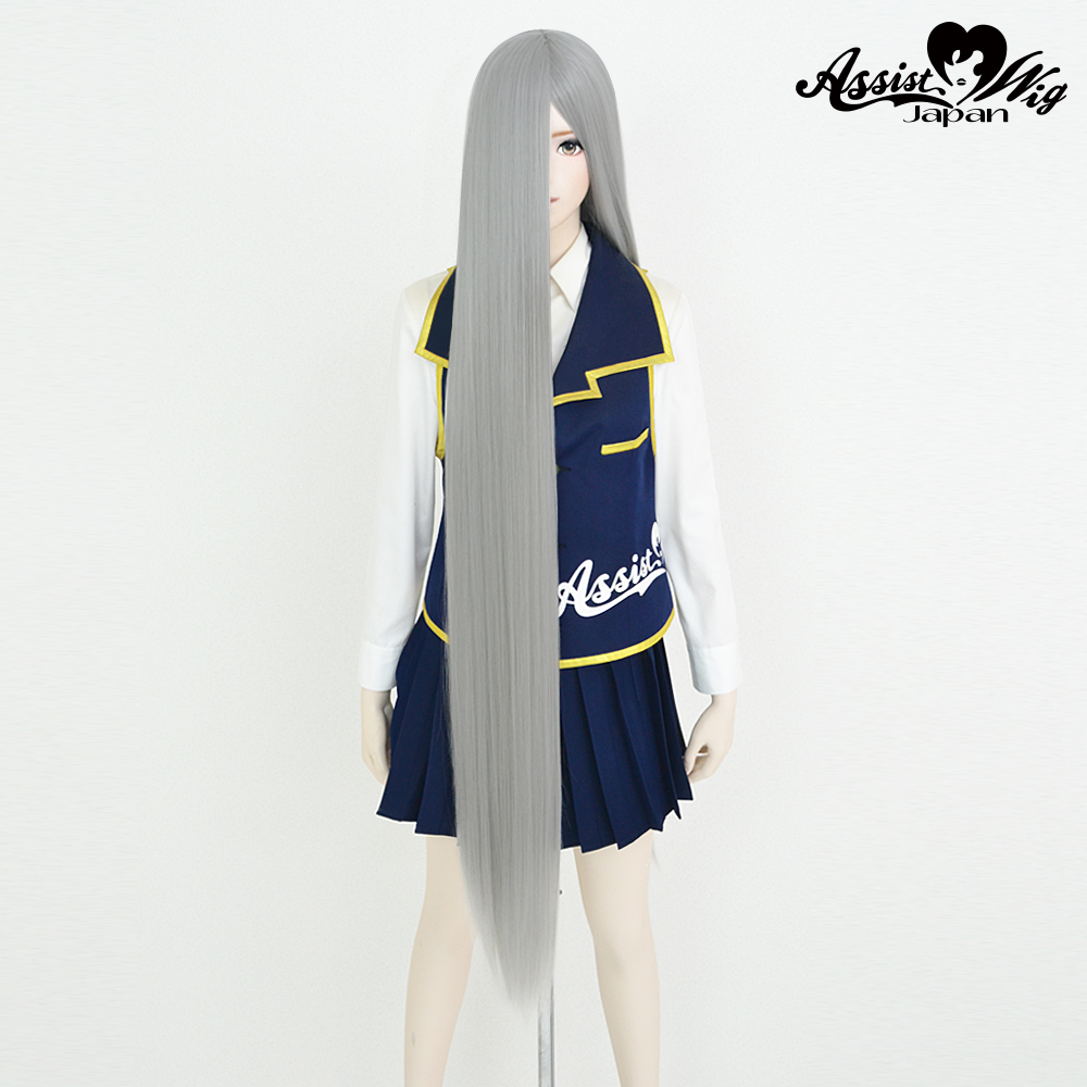 Super long base (with wig spray) Silver NS-15