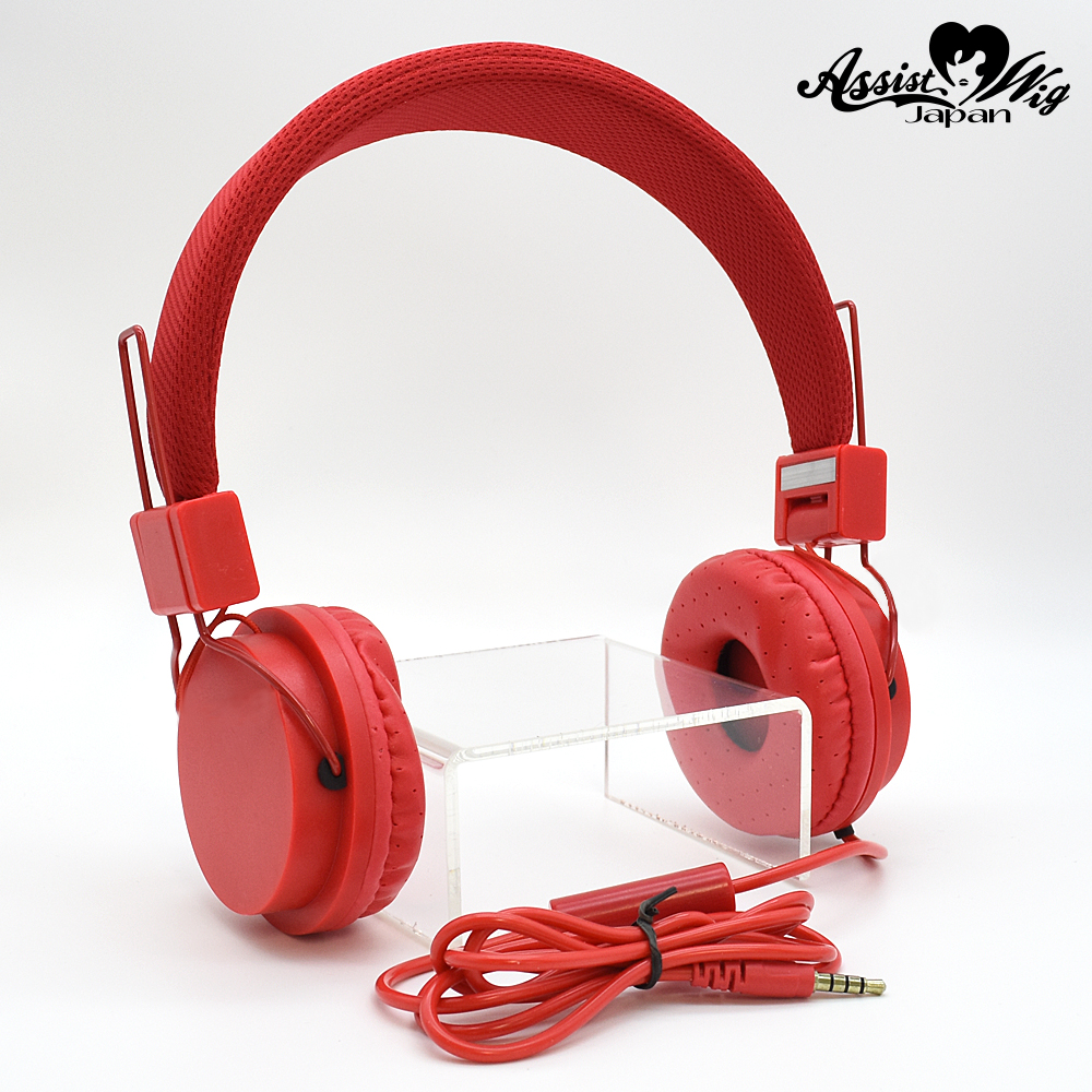 Color headphones Red