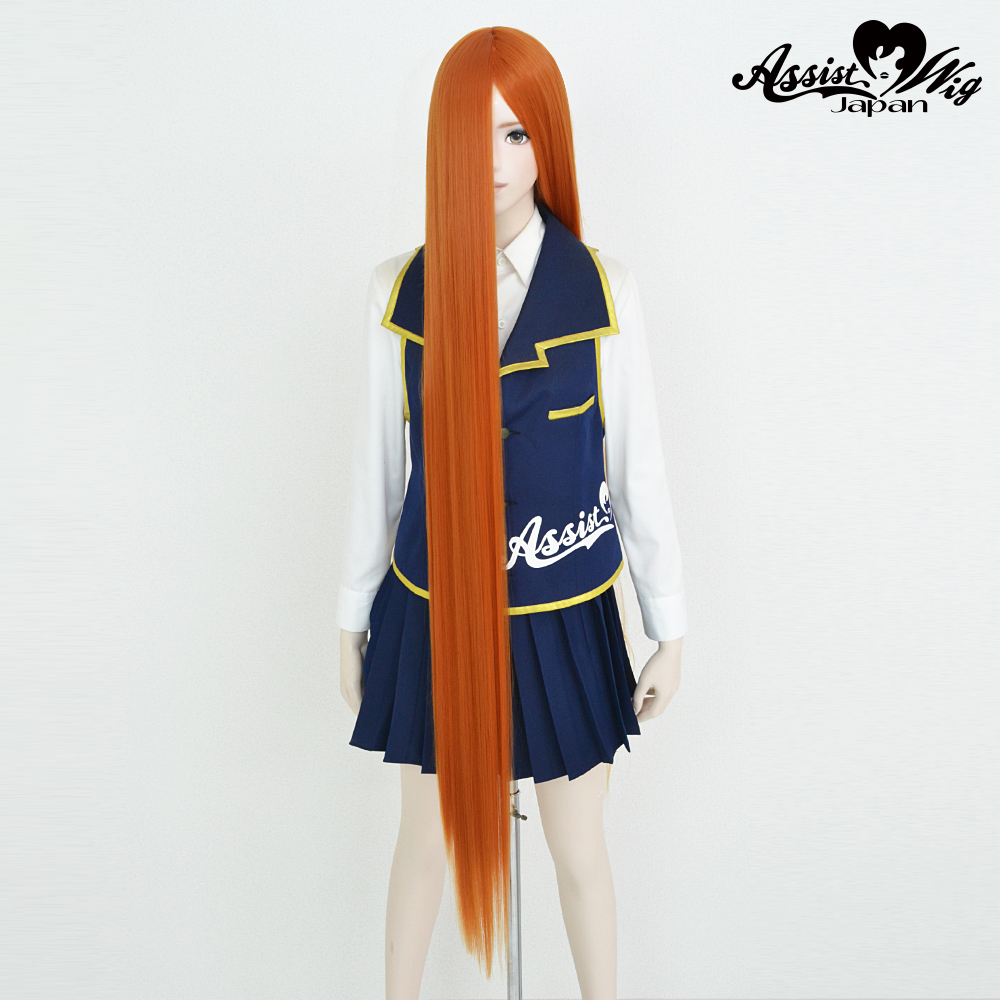 Super long base (with wig spray) Orange NGOO-13