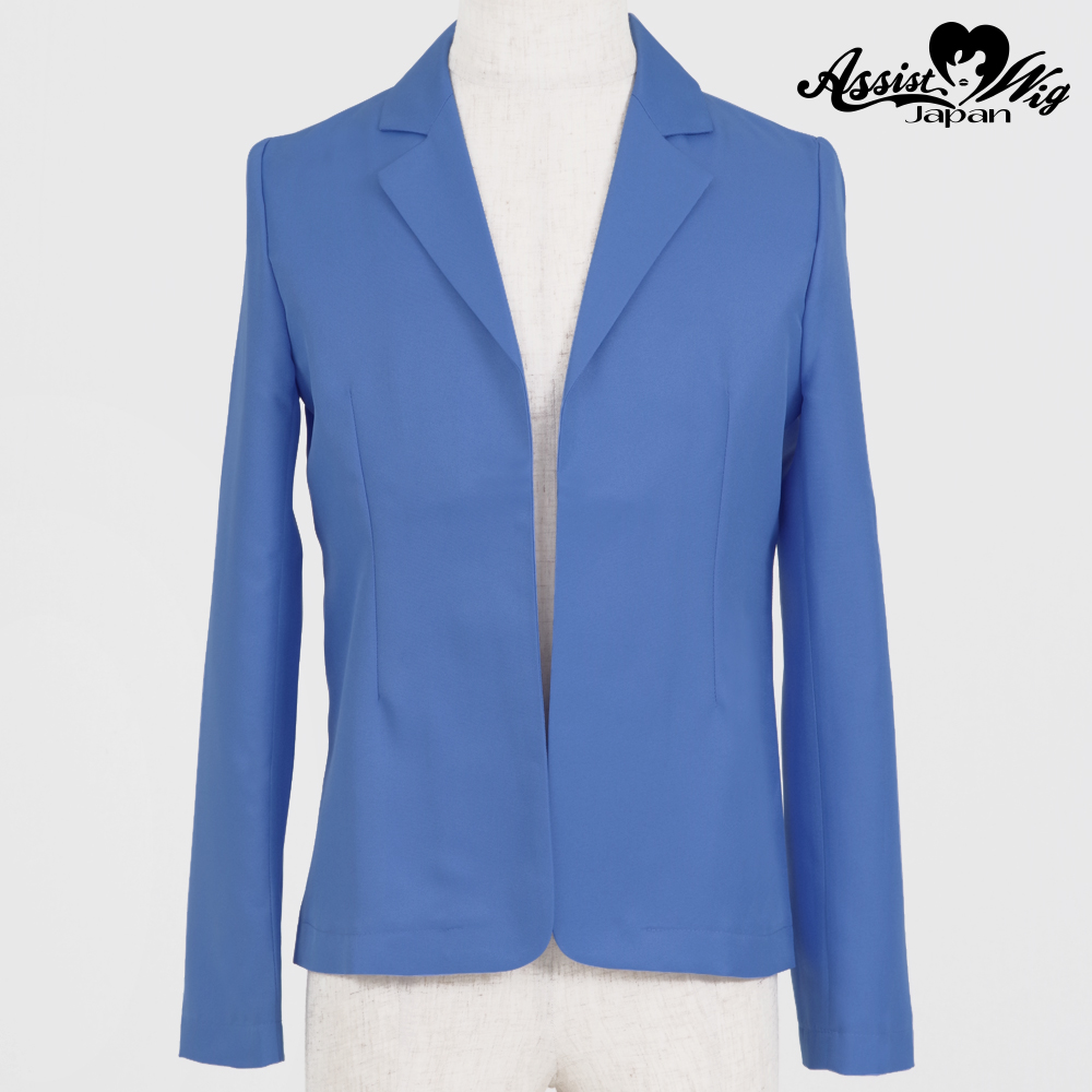 Color jacket (unfinished item) Oriental Blue