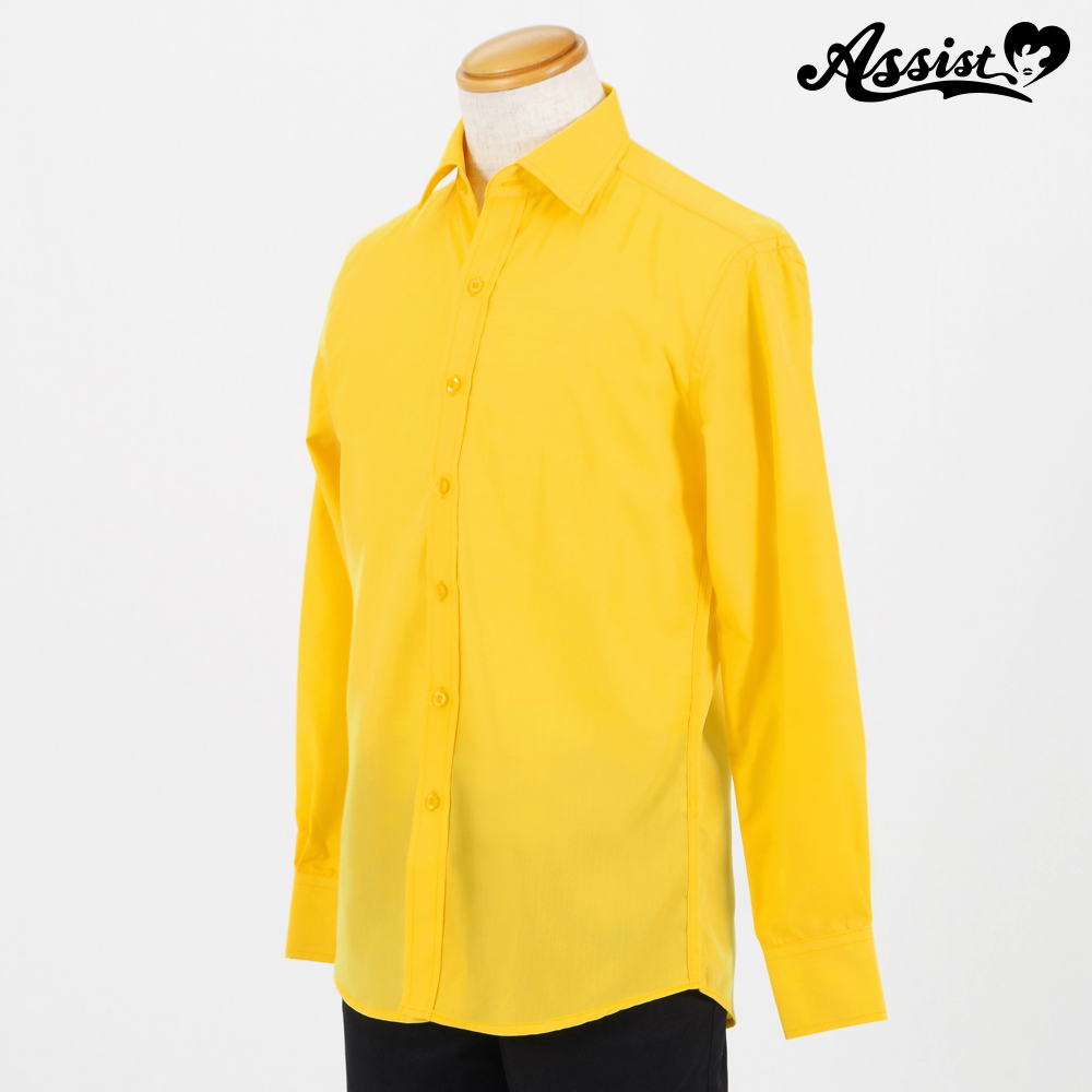 Color Shirt (Left Front / Long Sleeve) Yellow