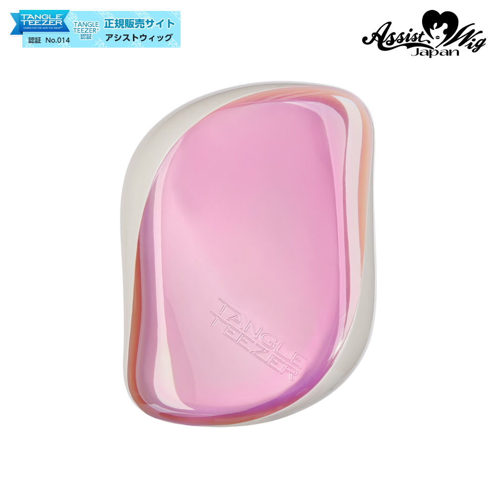 TANGLE TEEZER (Hair Care Brush) Compact Styler Pink Shell