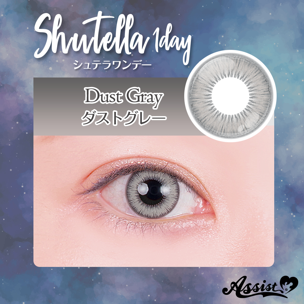 Assist ChouChou Shutella 1Day Dust gray