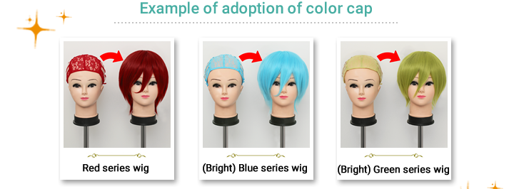 Example of adoption of color cap