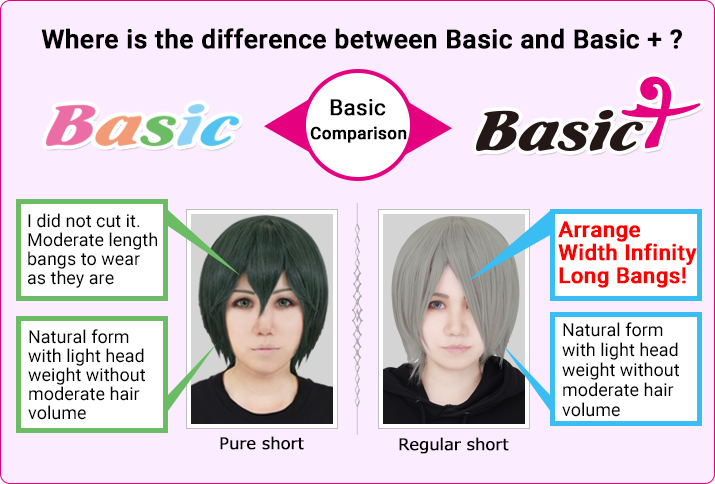 Where is the difference between Basic and Basic +?